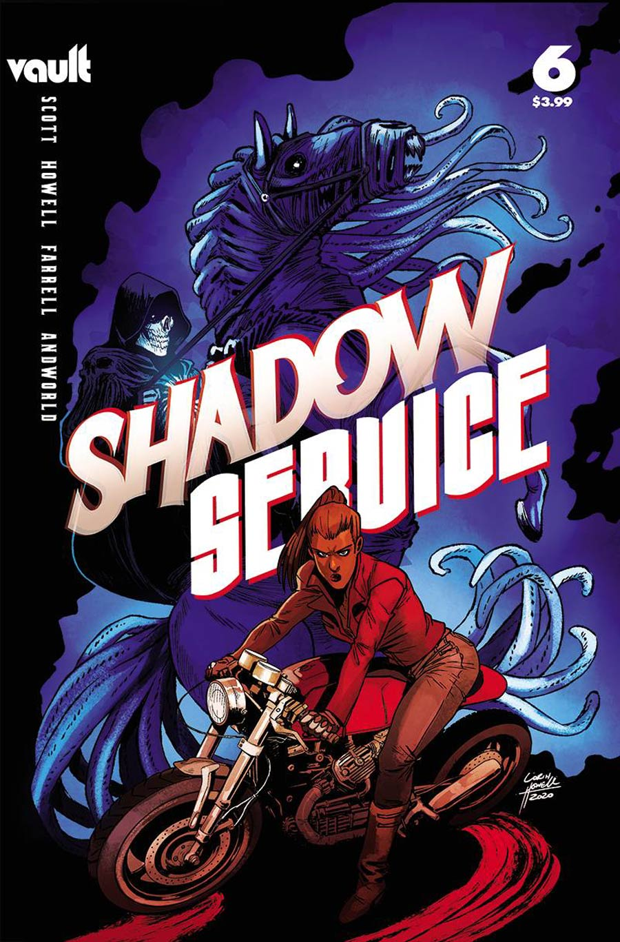 Shadow Service #6 Cover A Regular Corin Howell Cover
