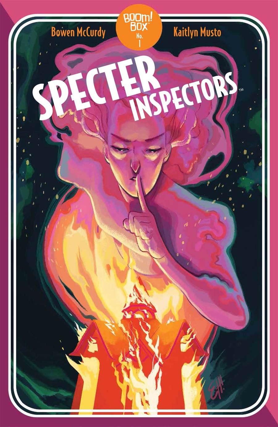 Specter Inspectors #2 Cover B Variant Erica Henderson Cover