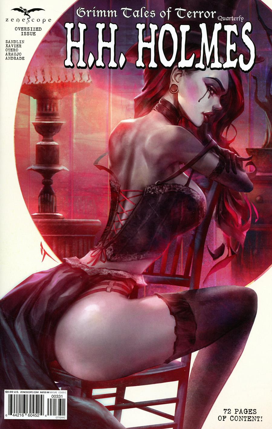 Grimm Fairy Tales Presents Grimm Tales Of Terror Quarterly #3 HH Holmes Cover C Ivan Tao