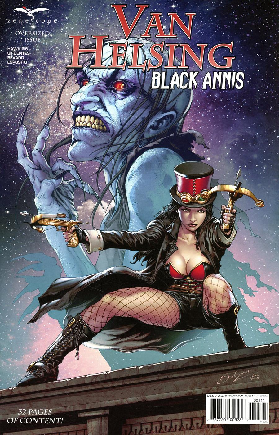 Grimm Fairy Tales Presents Van Helsing Black Annis #1 (One Shot) Cover A Edgar Salazar