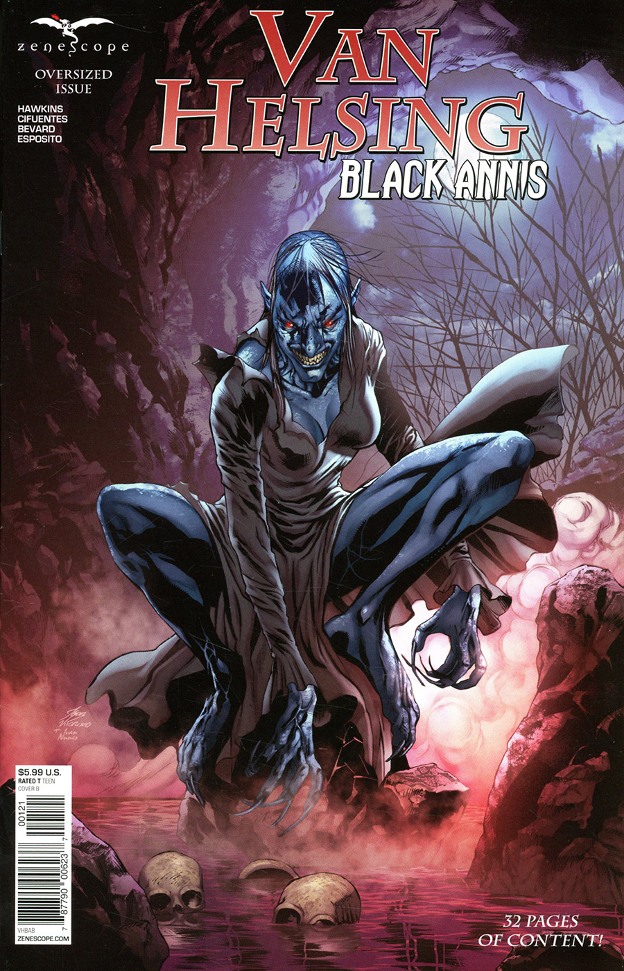 Grimm Fairy Tales Presents Van Helsing Black Annis #1 (One Shot) Cover B Igor Vitorino