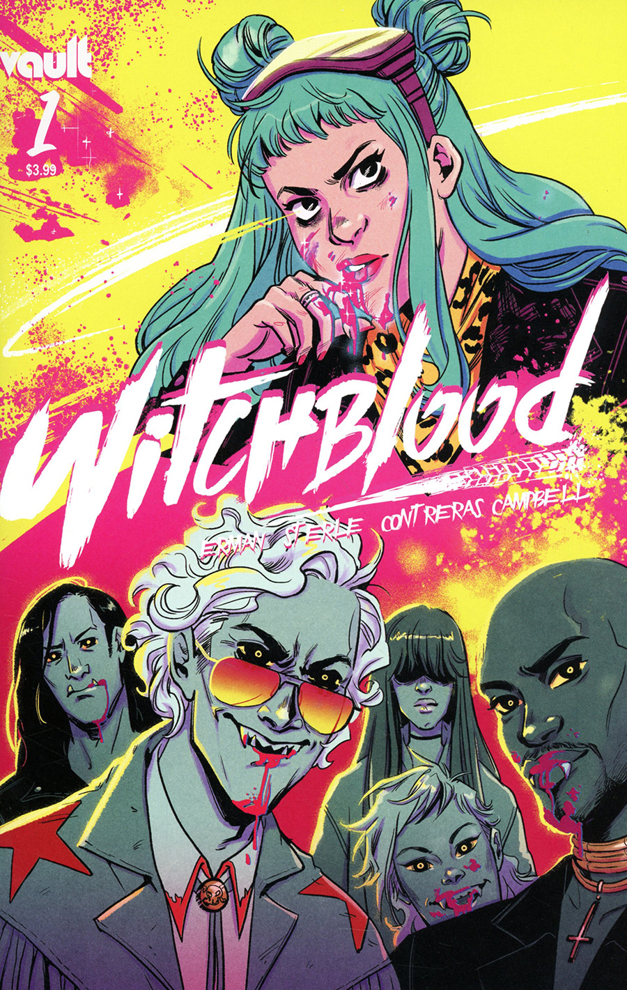 Witchblood #1 Cover A Regular Lisa Sterle Cover