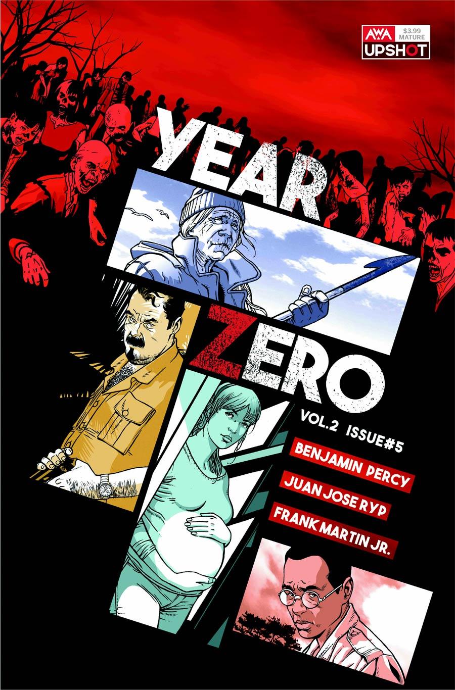 Year Zero Vol 2 #5 Cover B Variant Ramon Rosanas Cover