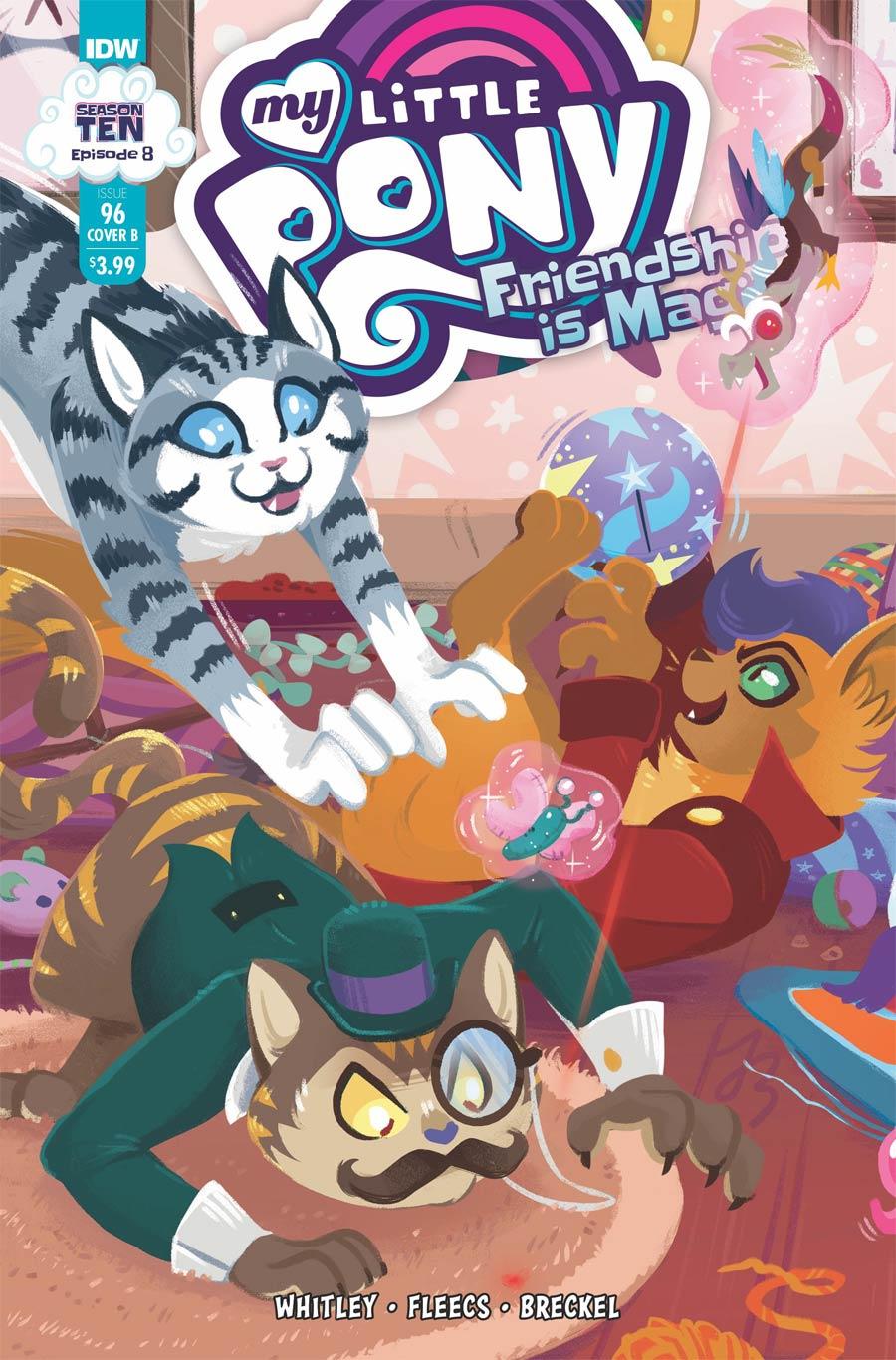 My Little Pony Friendship Is Magic #96 Cover B Variant JustaSuta Cover