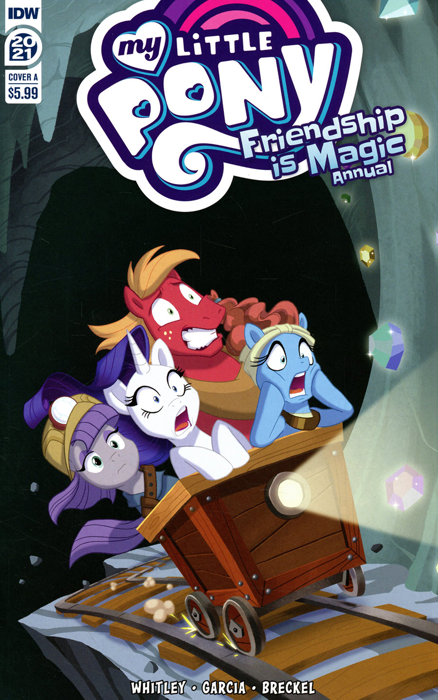 My Little Pony Friendship Is Magic Annual 2021 Cover A Regular Brianna Garcia Cover