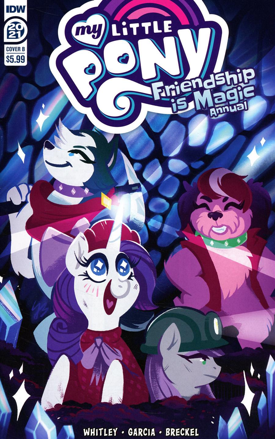 My Little Pony Friendship Is Magic Annual 2021 Cover B Variant JustaSuta Cover