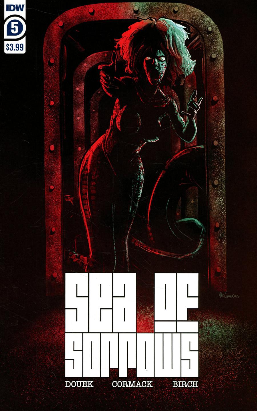 Sea Of Sorrows #5 Cover A Regular Alex Cormack Cover