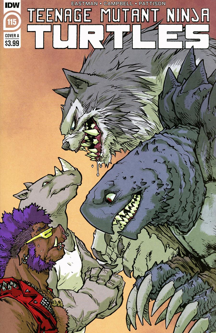 Teenage Mutant Ninja Turtles Vol 5 #115 Cover A Regular Sophie Campbell Cover