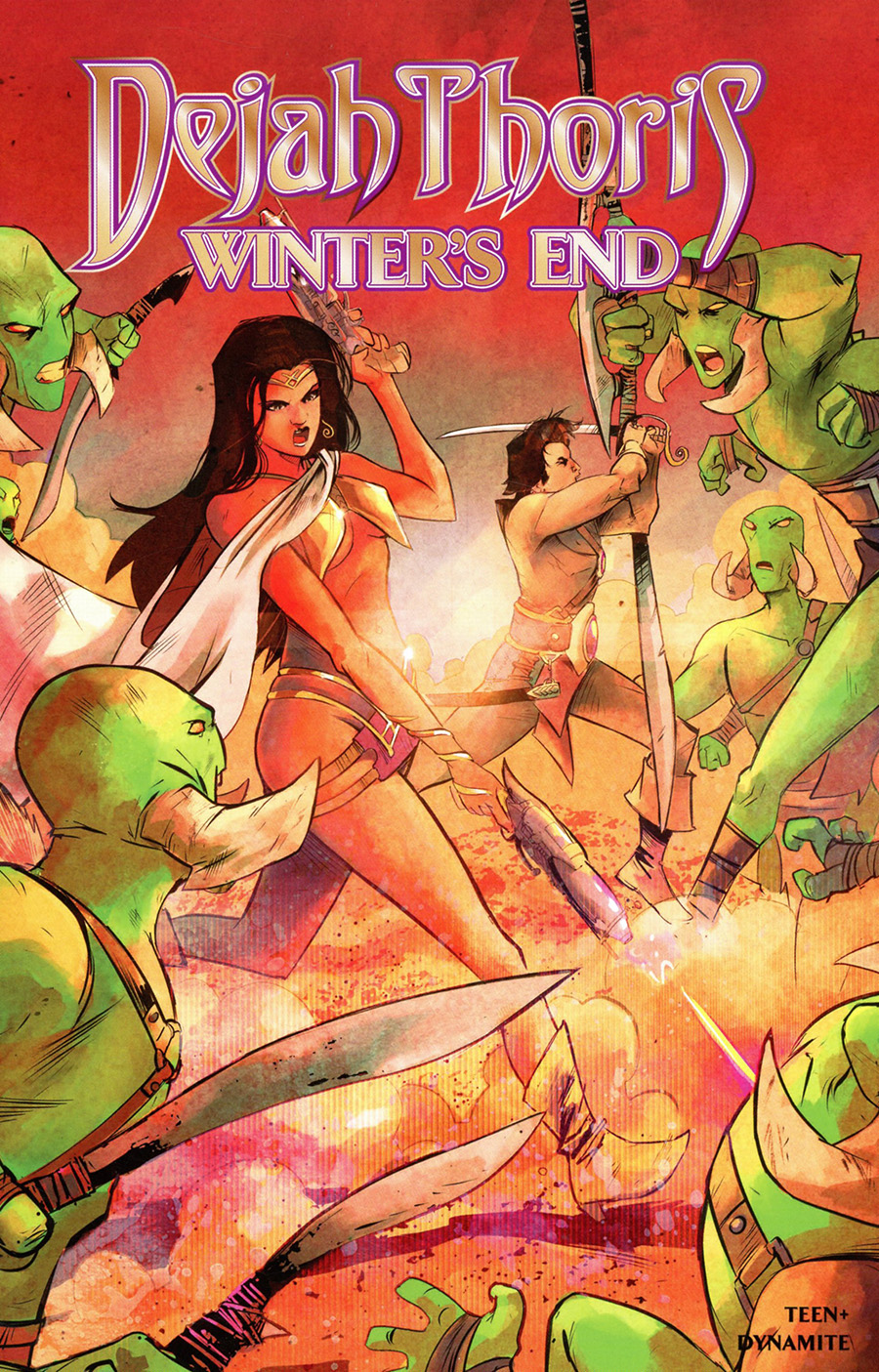 Dejah Thoris Winters End #1 (One Shot) Cover B Variant Sebastian Piriz Cover