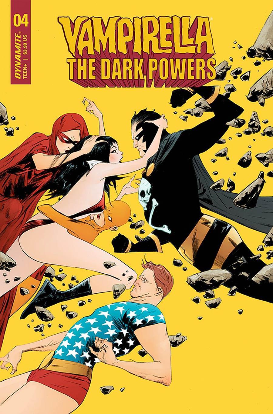 Vampirella The Dark Powers #4 Cover A Regular Jae Lee Cover