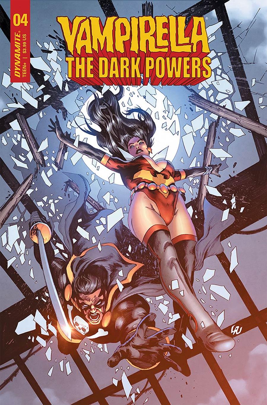 Vampirella The Dark Powers #4 Cover C Variant Jonathan Lau Cover