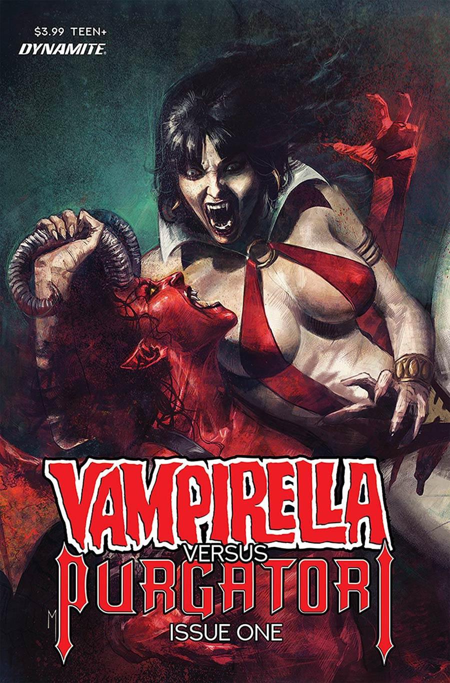 Vampirella vs Purgatori #1 Cover E Variant Marco Mastrazzo Cover