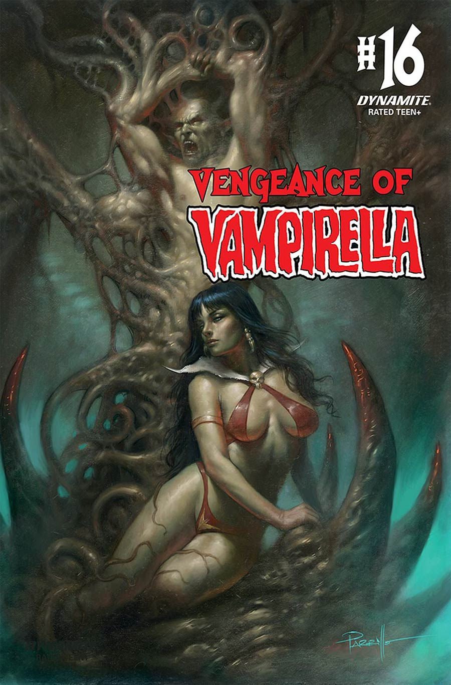 Vengeance Of Vampirella Vol 2 #16 Cover A Regular Lucio Parrillo Cover