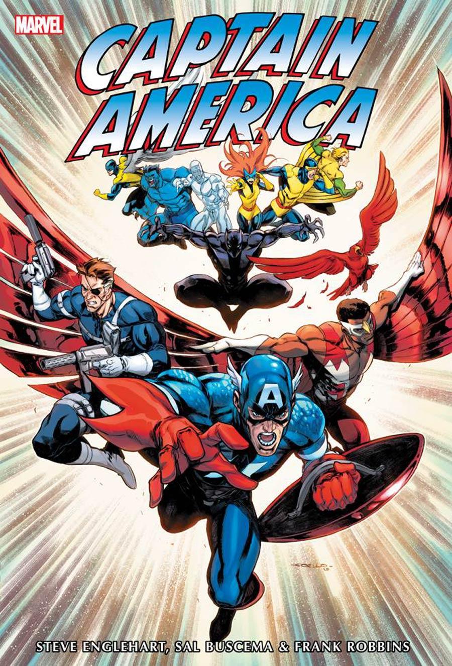 Captain America Omnibus Vol 3 HC Book Market Iban Coello Cover