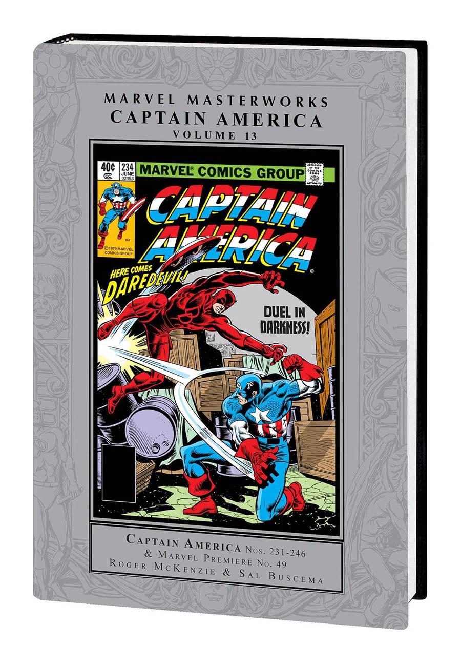 Marvel Masterworks Captain America Vol 13 HC Regular Dust Jacket