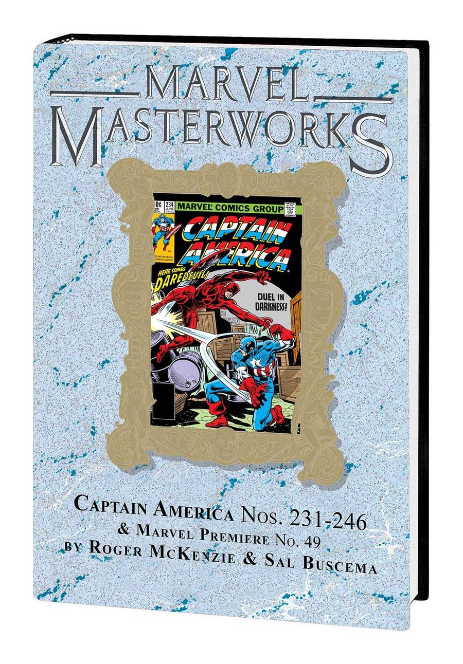 Marvel Masterworks Captain America Vol 13 HC Variant Dust Jacket
