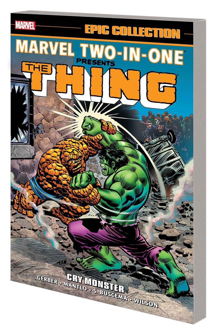 Marvel Two-In-One Epic Collection Vol 1 Cry Monster TP New Printing