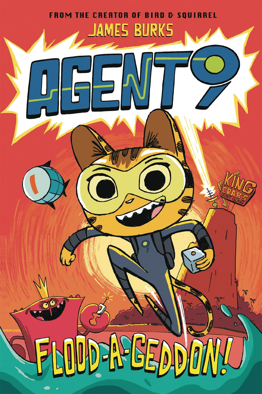 Agent 9 Vol 1 Flood-A-Geddon TP
