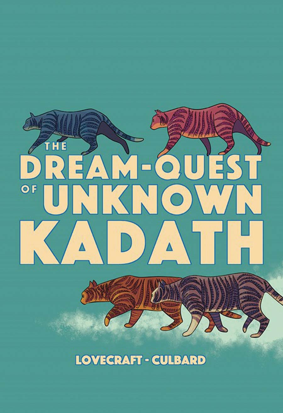 HP Lovecrafts Dream-Quest Of Unknown Kadath GN
