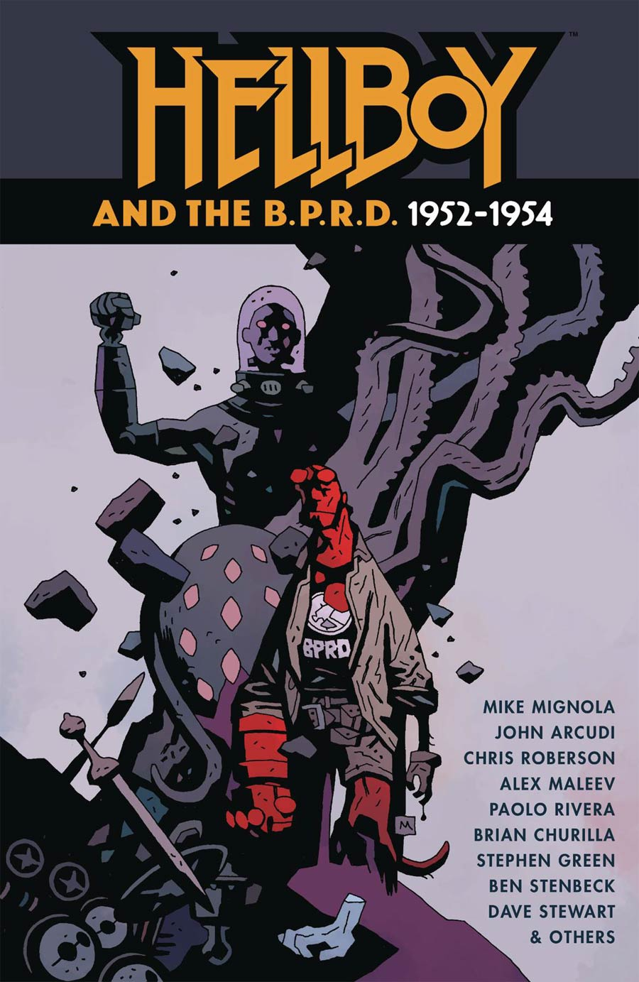 Hellboy And The BPRD 1952-1954 HC