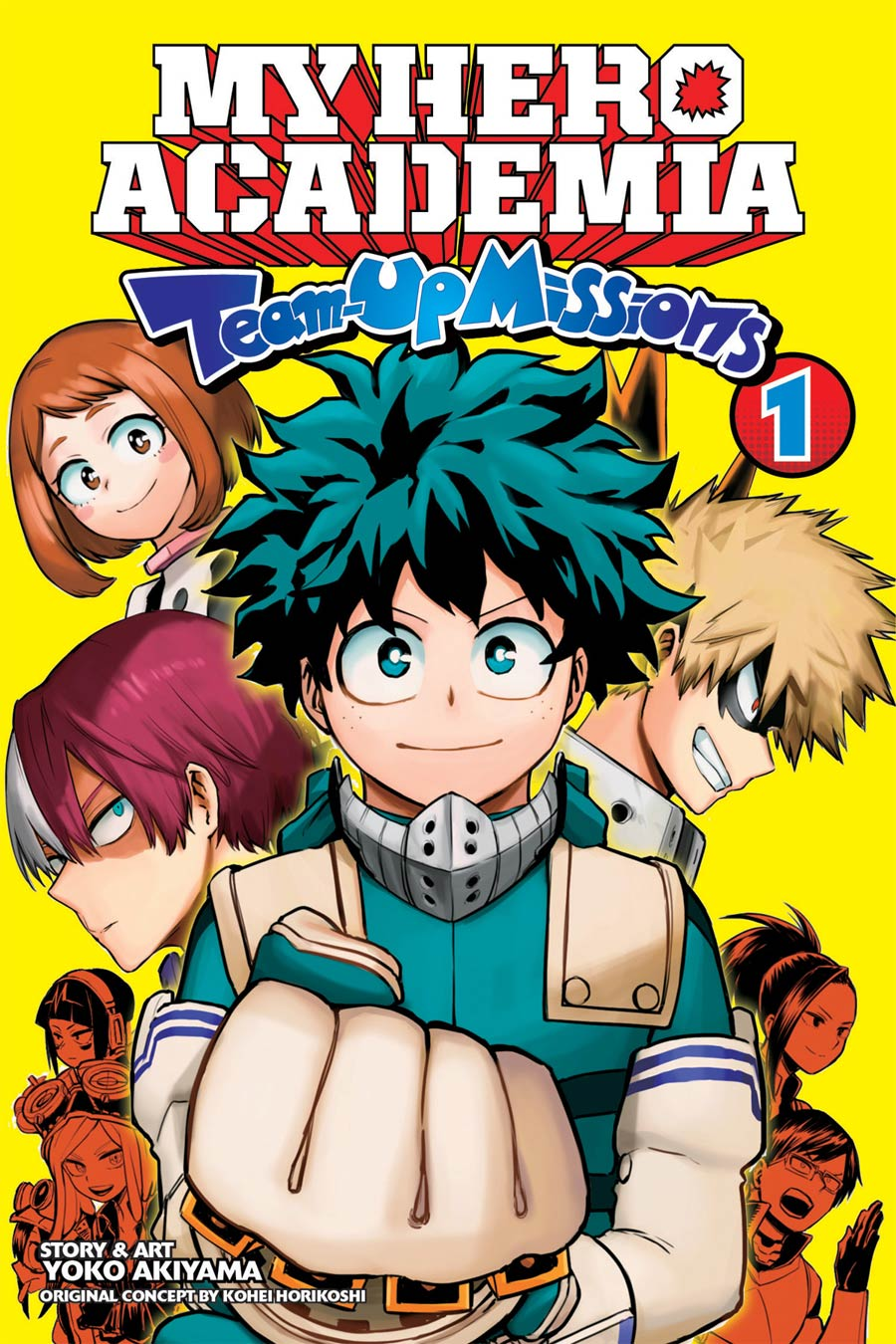 My Hero Academia Team-Up Missions Vol 1 GN