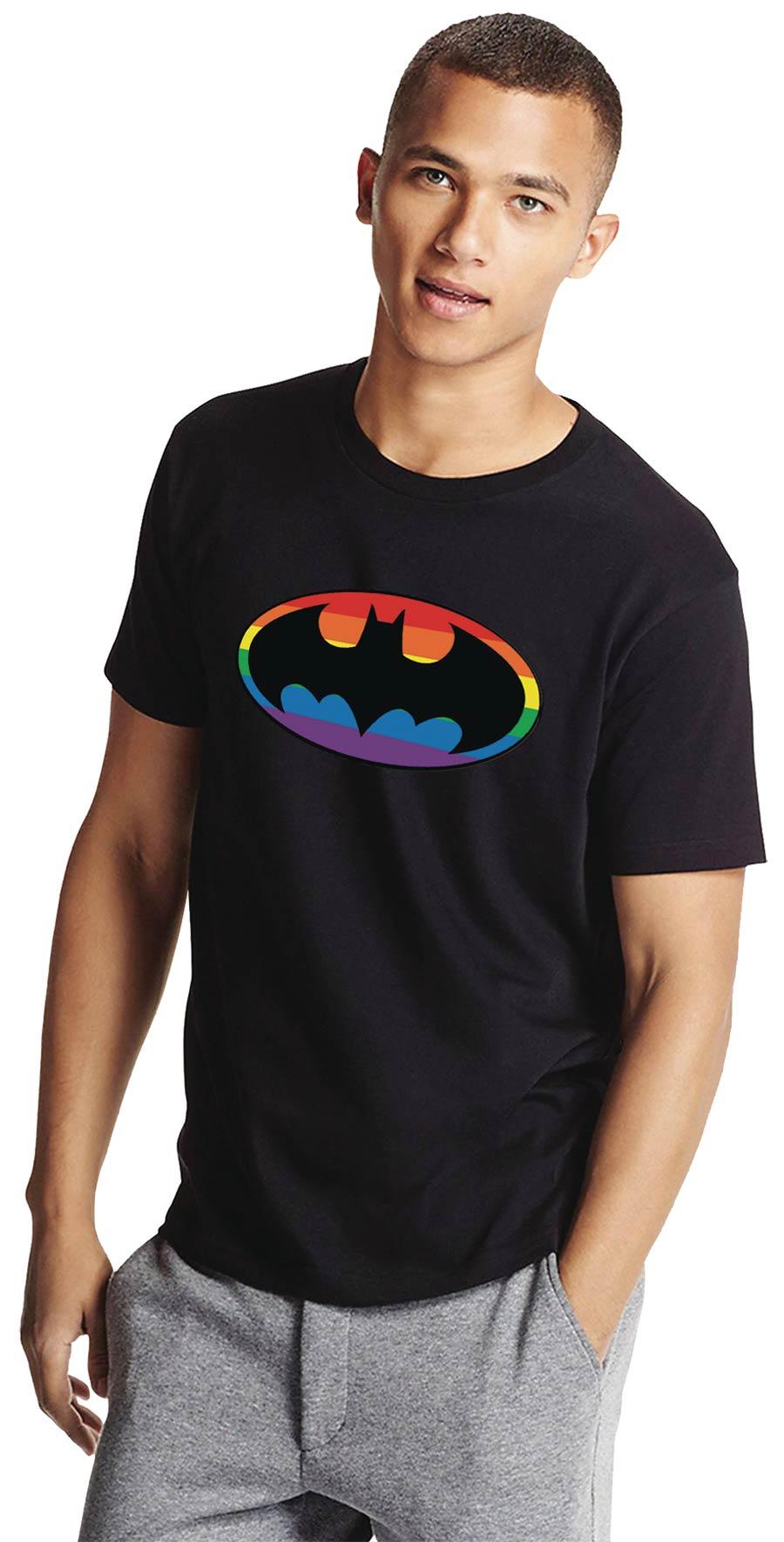 Batman Pride Symbol T-Shirt Large