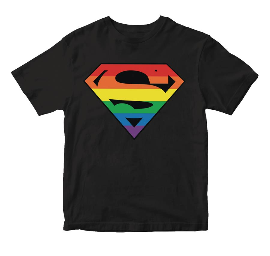 Superman Pride Symbol T-Shirt Large
