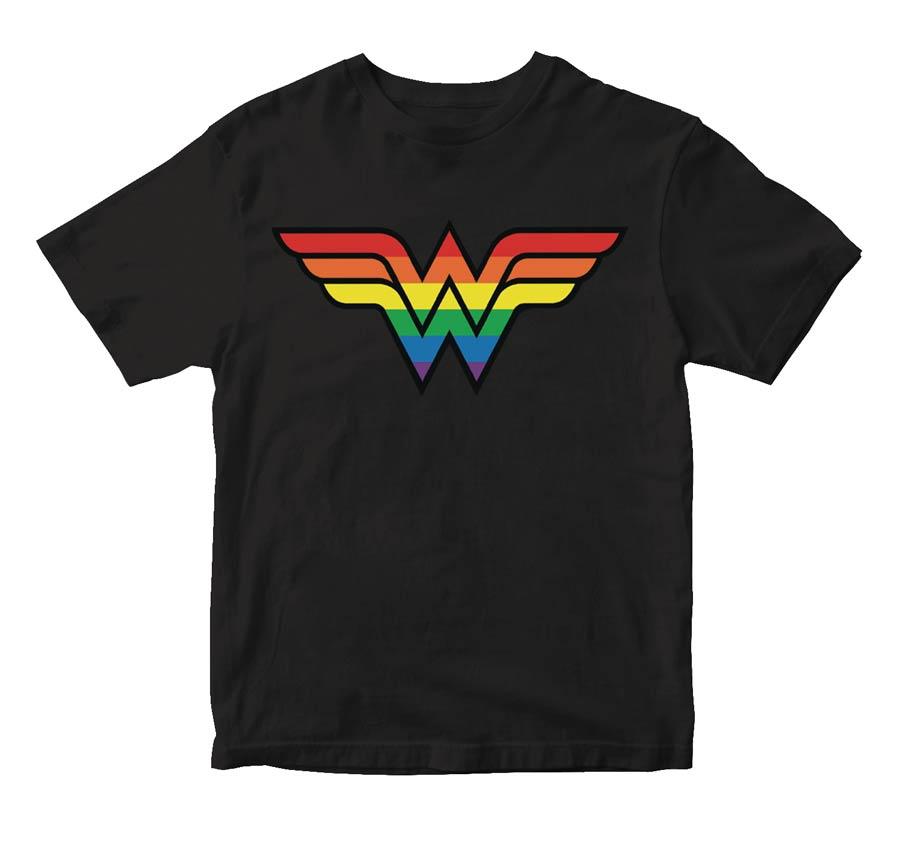 Wonder Woman Pride Symbol T-Shirt Large