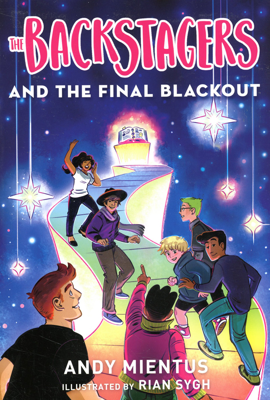 Backstagers Illustrated Novel Vol 3 Backstagers And The Final Blackout TP