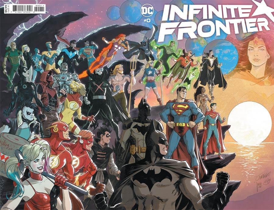 Infinite Frontier #0 Cover A Regular Dan Jurgens & Mikel Janin Wraparound Cover