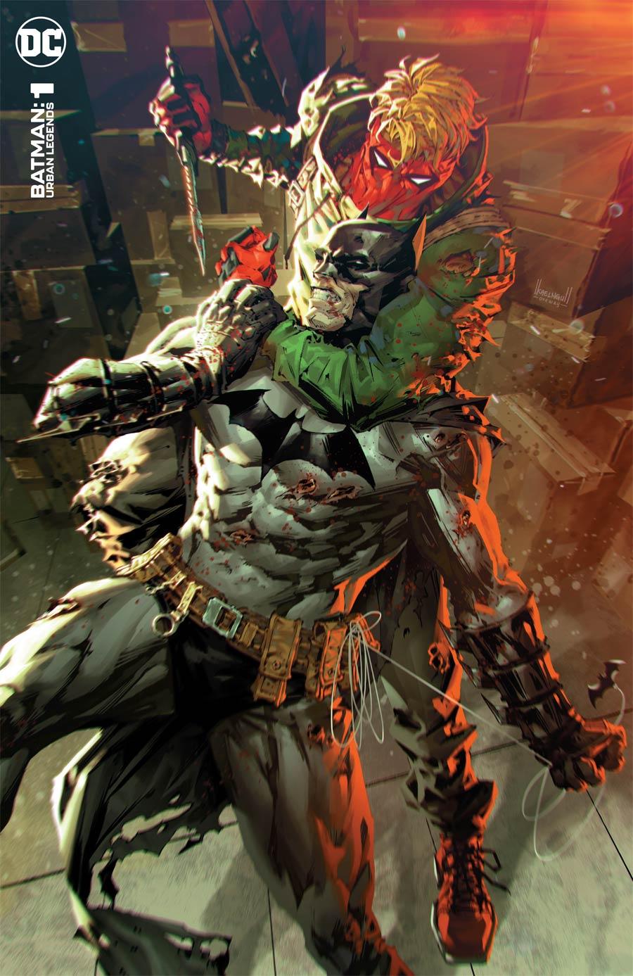 Batman Urban Legends #1 Cover C Variant Kael Ngu Batman Grifter Cover