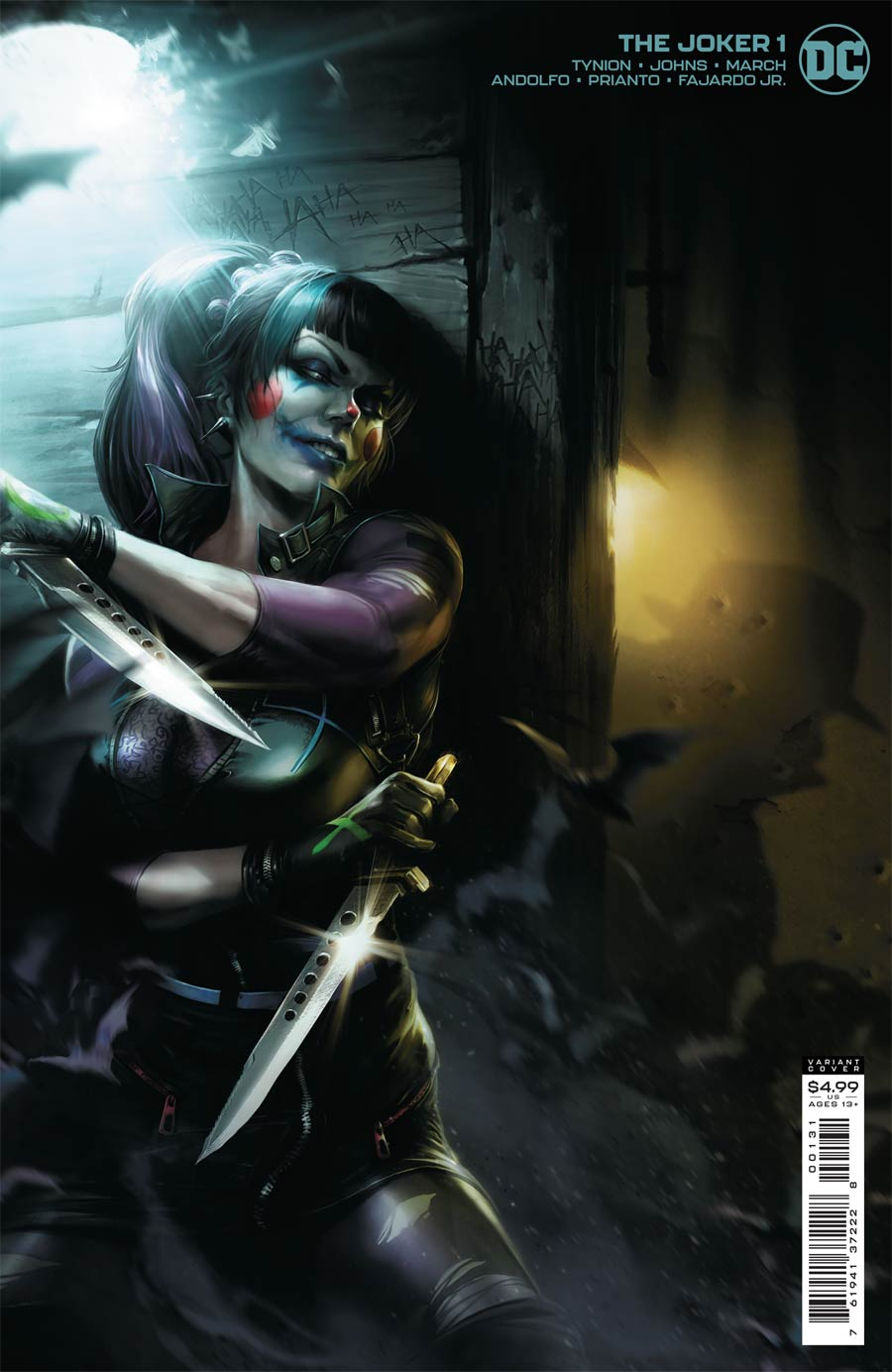 Joker Vol 2 #1 Cover C Variant Francesco Mattina Cover