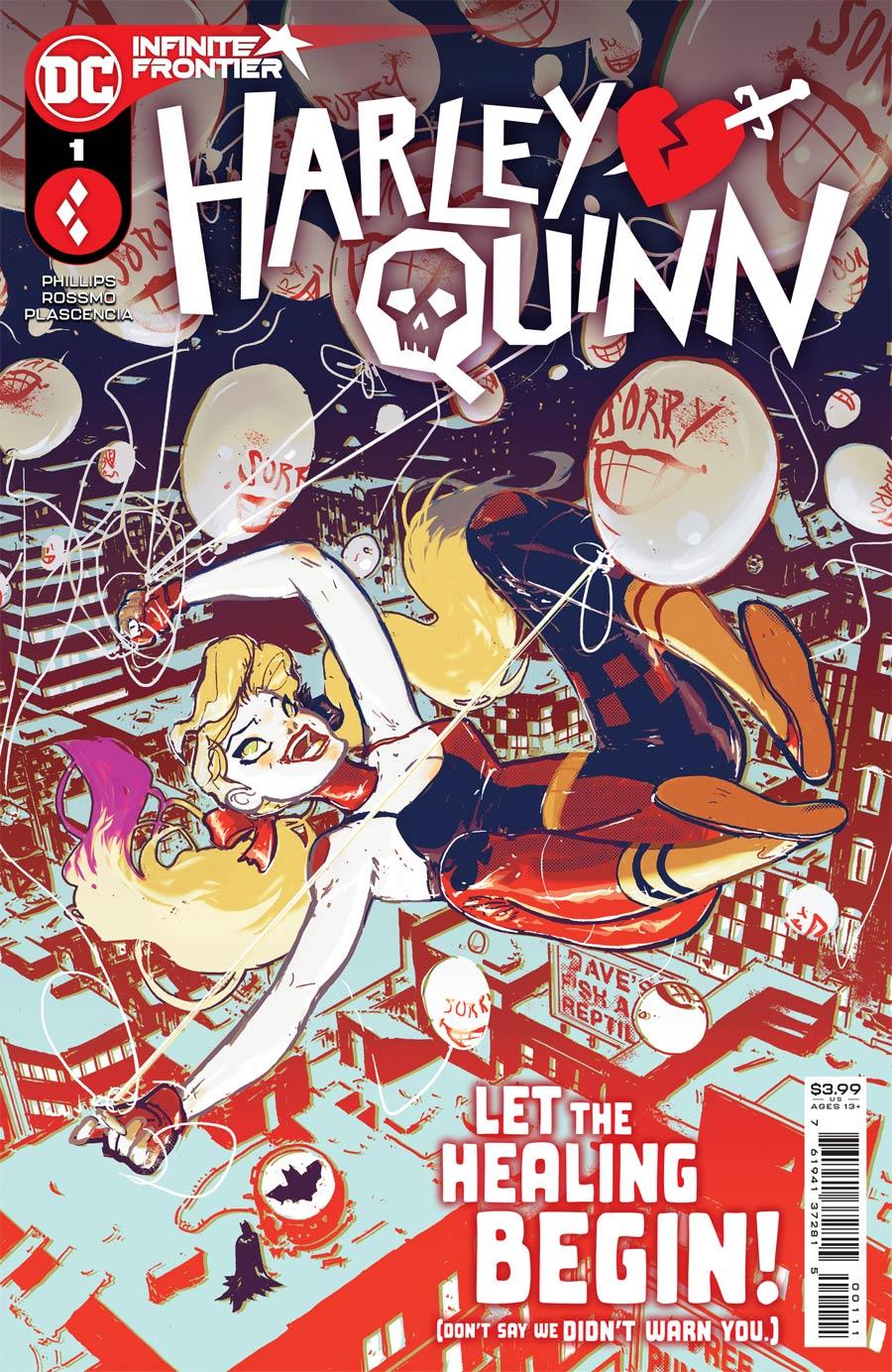 Harley Quinn Vol 4 #1 Cover A Regular Riley Rossmo Cover