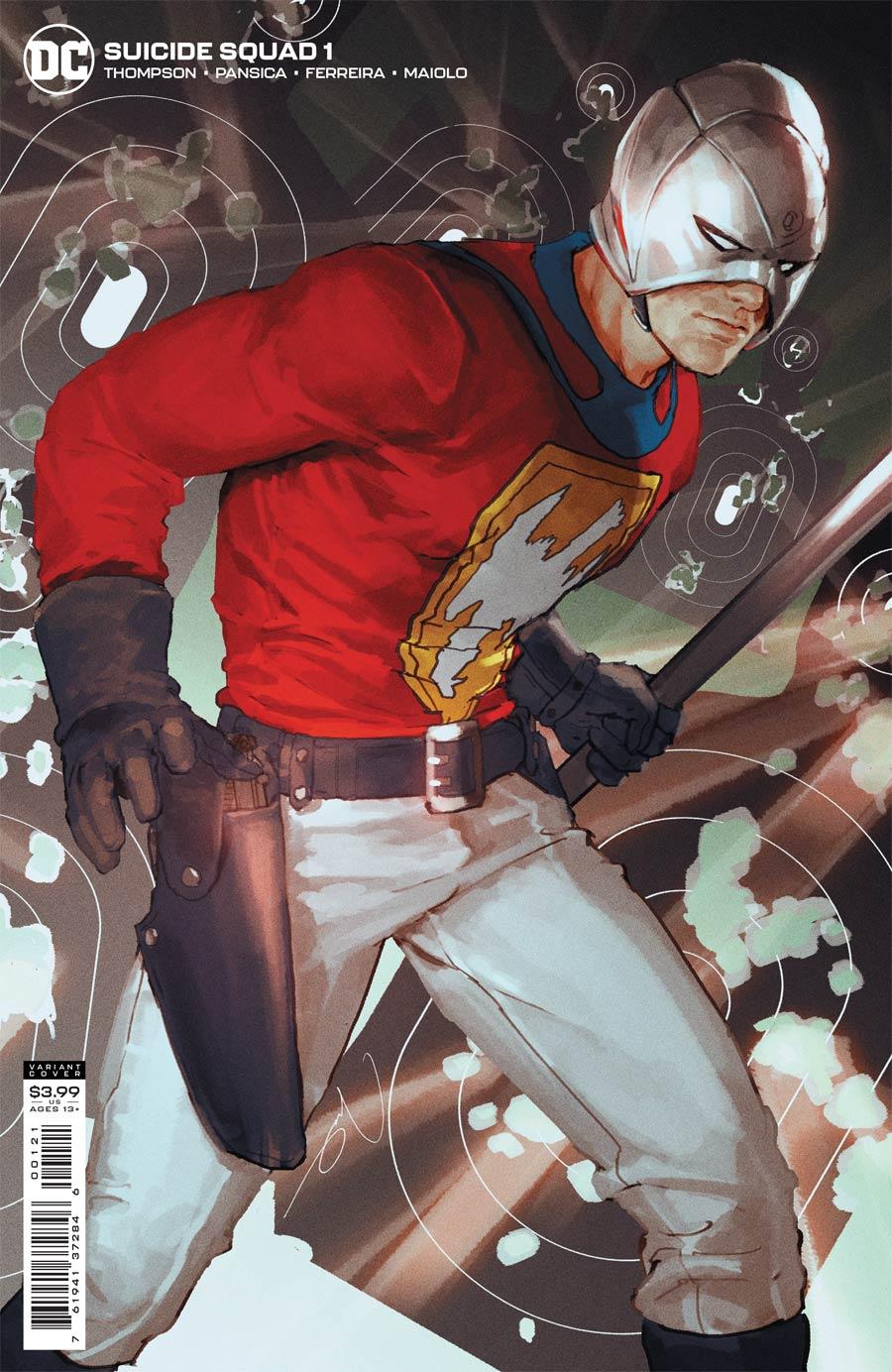 Suicide Squad Vol 6 #1 Cover B Variant Gerald Parel Cover