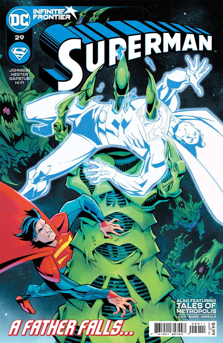 Superman Vol 6 #29 Cover A Regular Phil Hester Cover