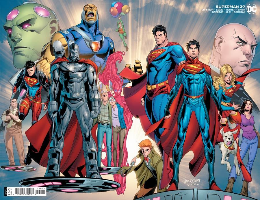 Superman Vol 6 #29 Cover B Variant John Timms Wraparound Cover