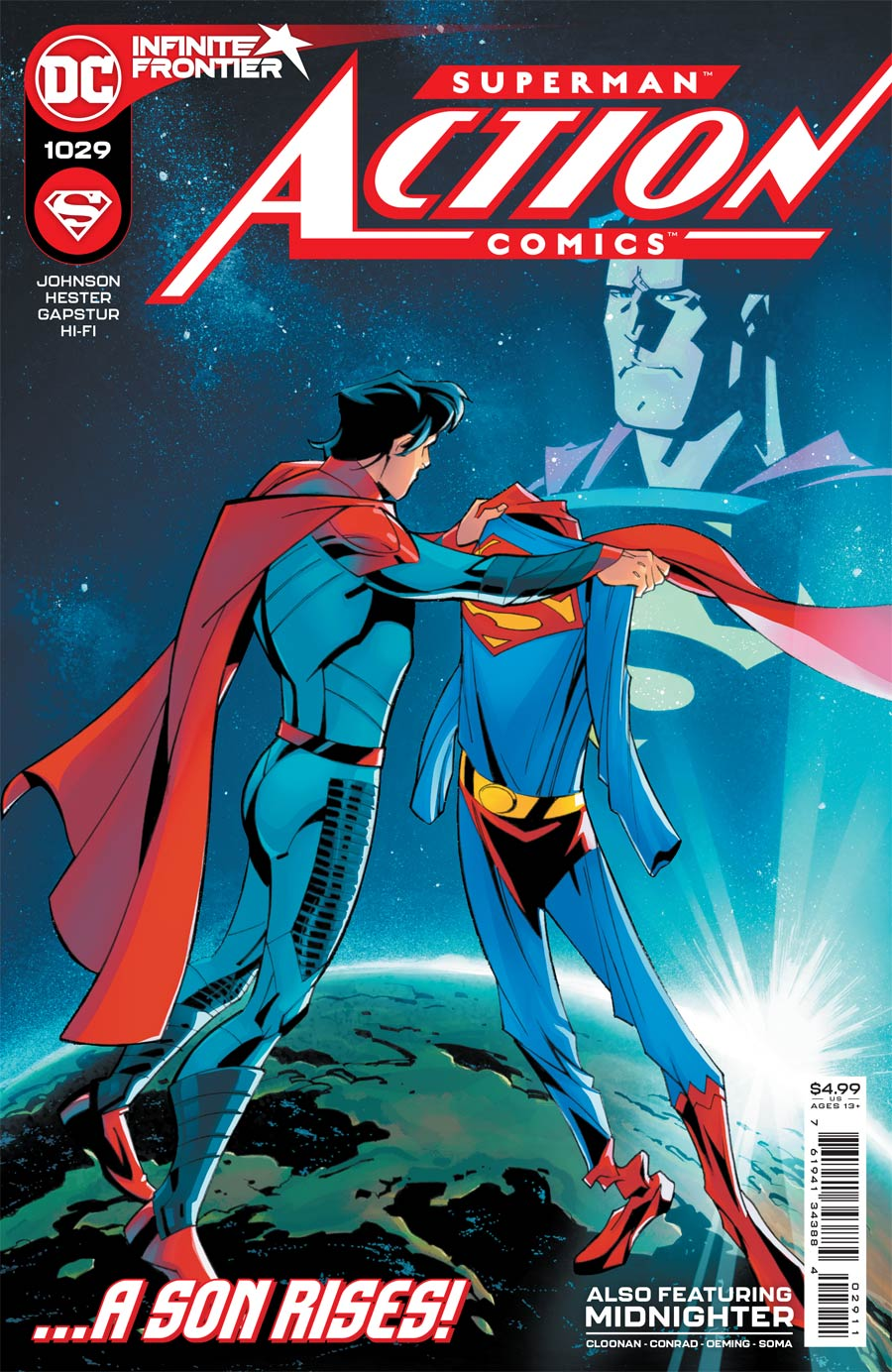 Action Comics Vol 2 #1029 Cover A Regular Phil Hester & Eric Gapstur Cover
