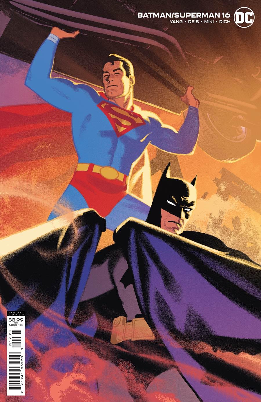 Batman Superman Vol 2 #16 Cover B Variant Greg Smallwood Cover