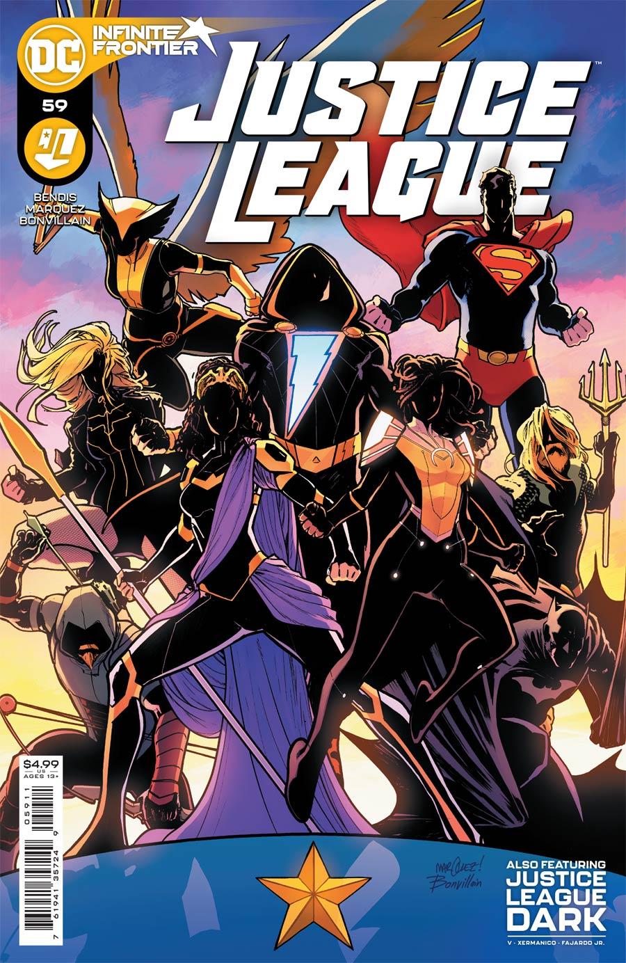 Justice League Vol 4 #59 Cover A Regular David Marquez Cover