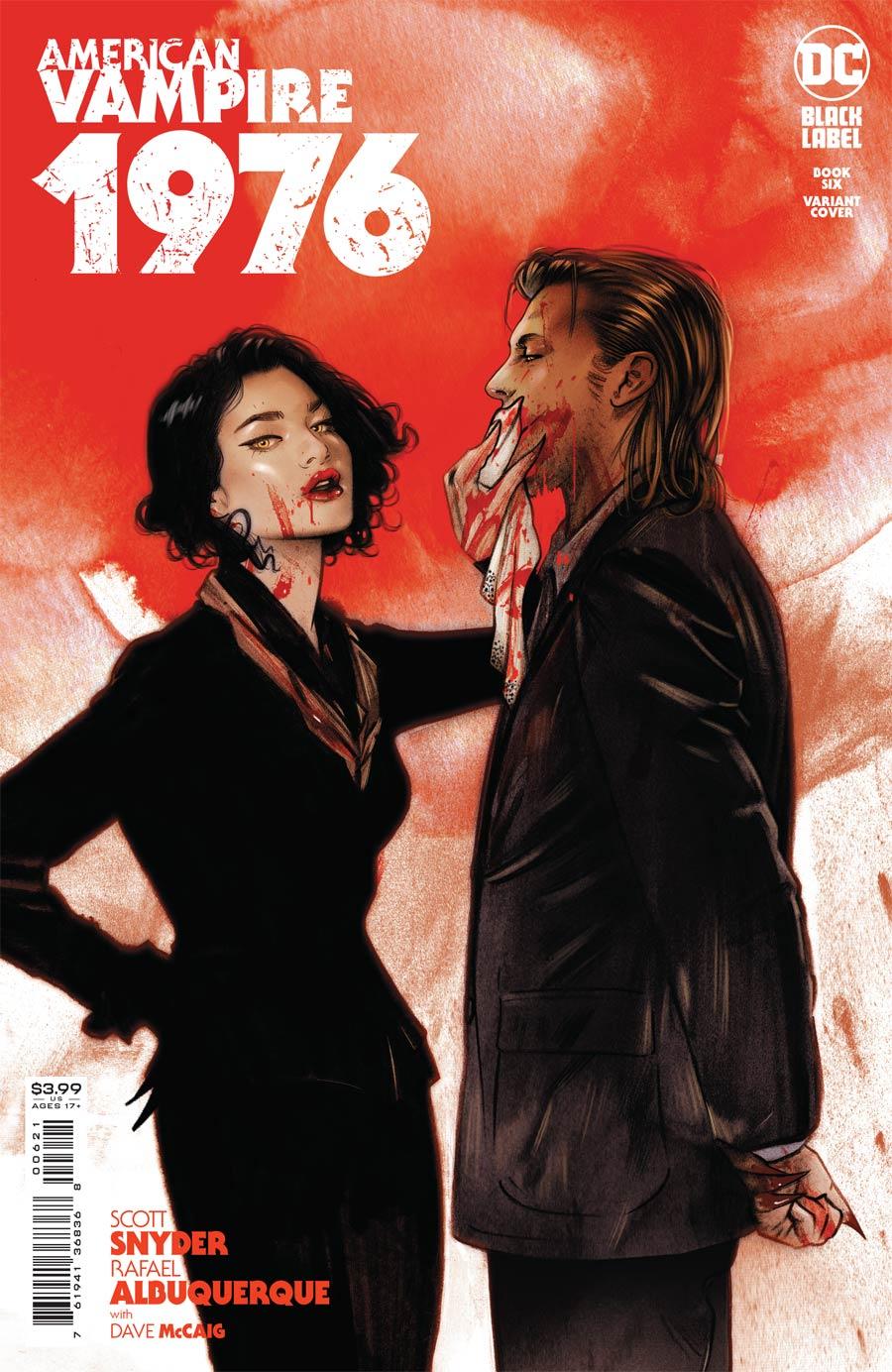 American Vampire 1976 #6 Cover B Variant Tula Lotay Cover