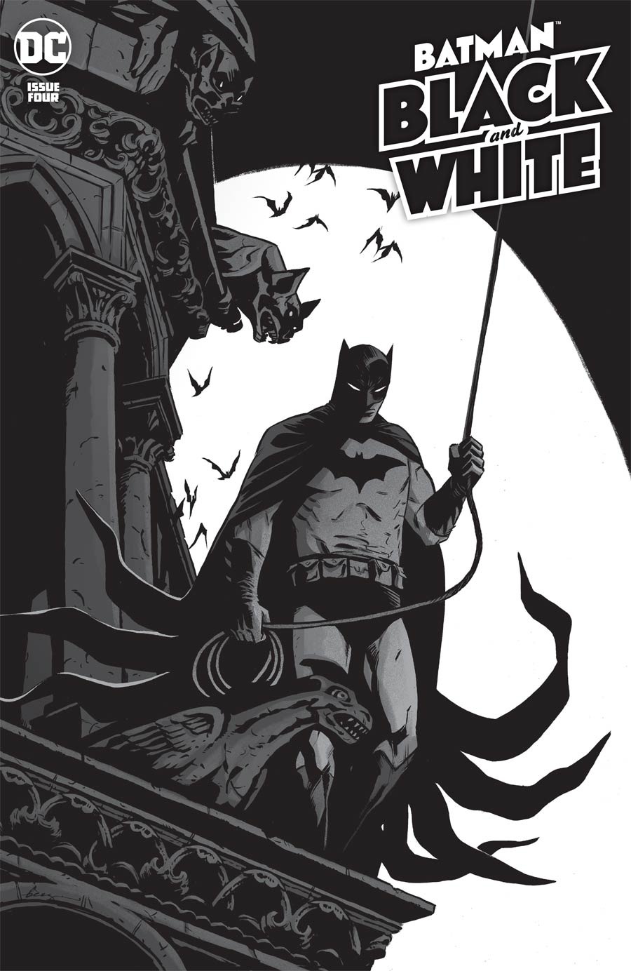 Batman Black & White Vol 3 #4 Cover A Regular Becky Cloonan Cover