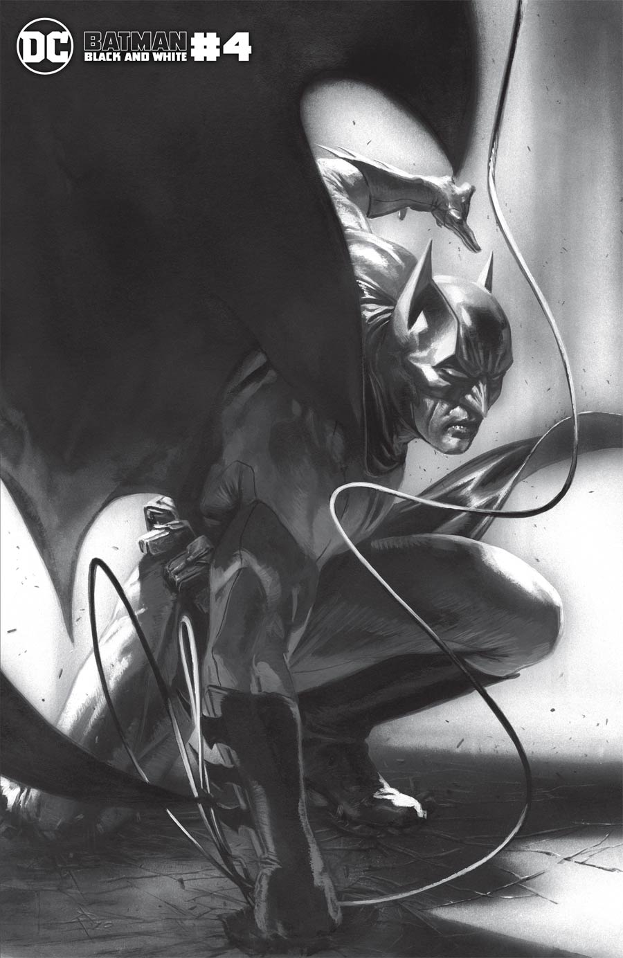 Batman Black & White Vol 3 #4 Cover B Variant Gabriele Dell Otto Cover