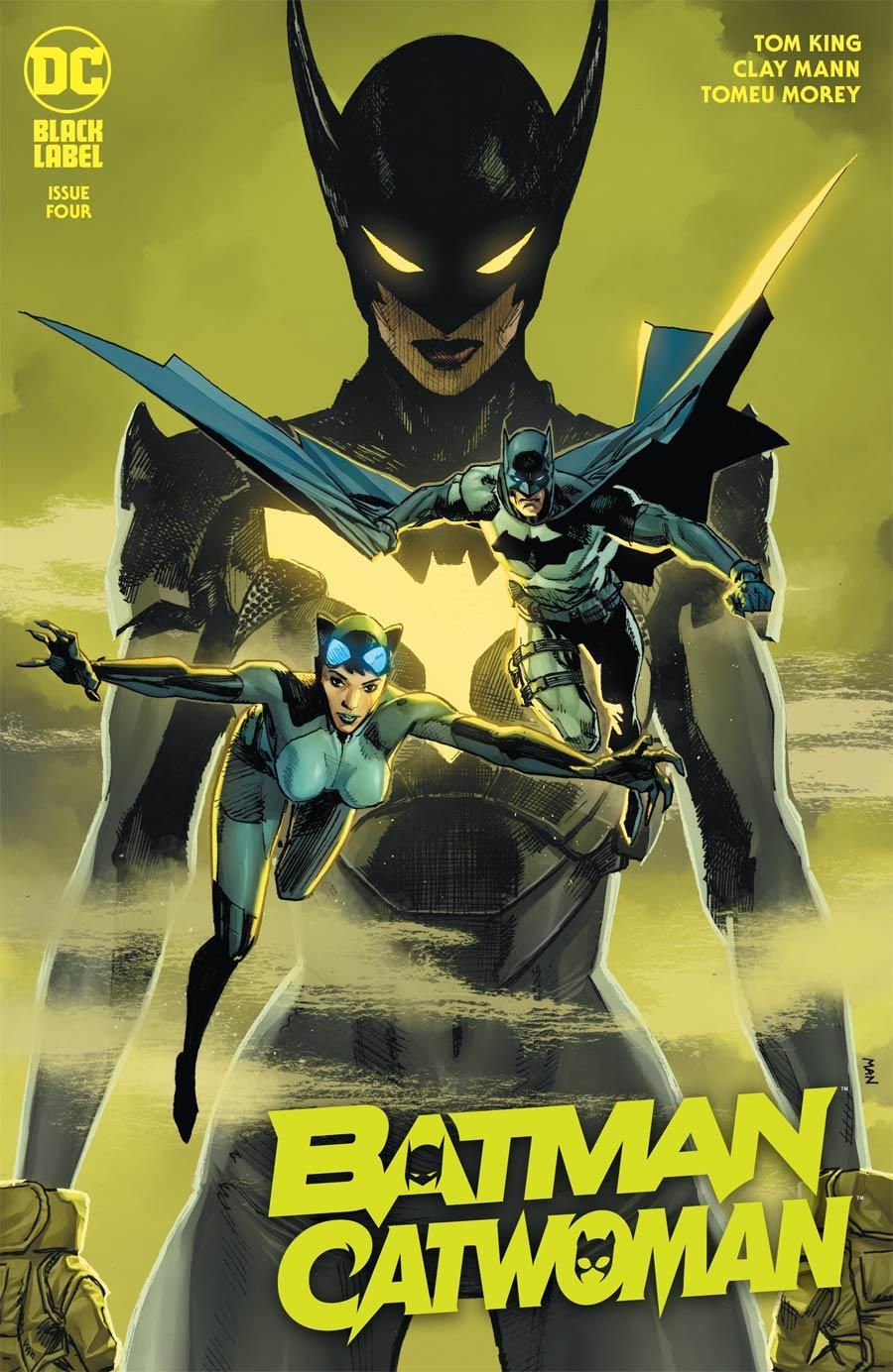 Batman Catwoman #4 Cover A Regular Clay Mann Cover