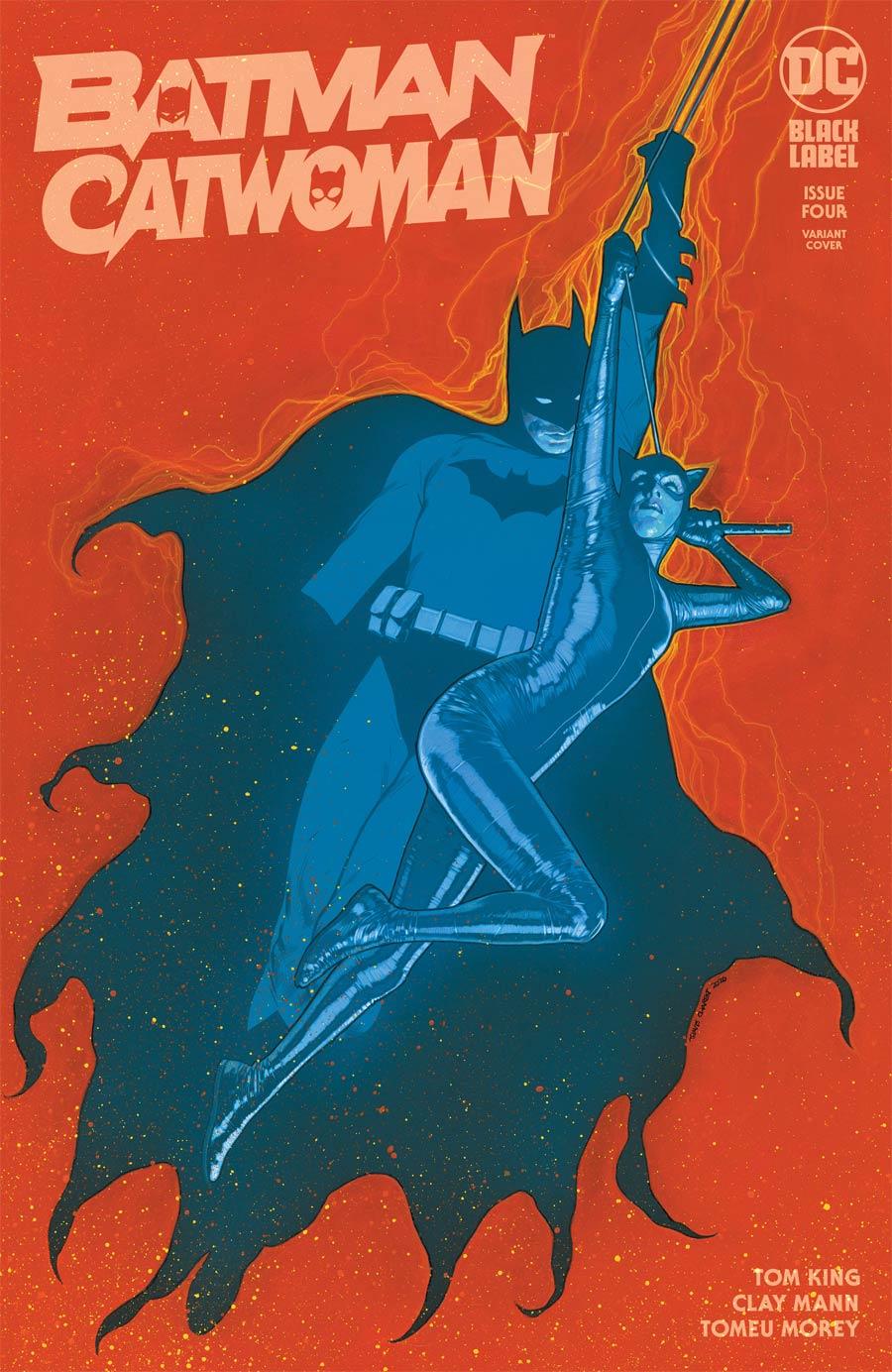 Batman Catwoman #4 Cover C Variant Travis Charest Cover