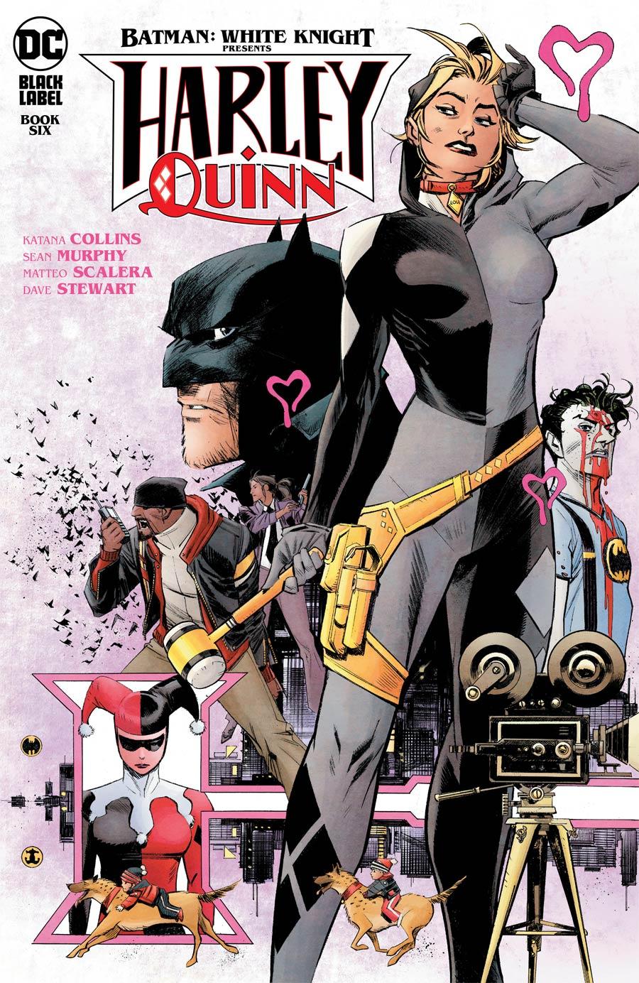 Batman White Knight Presents Harley Quinn #6 Cover A Regular Sean Murphy Cover