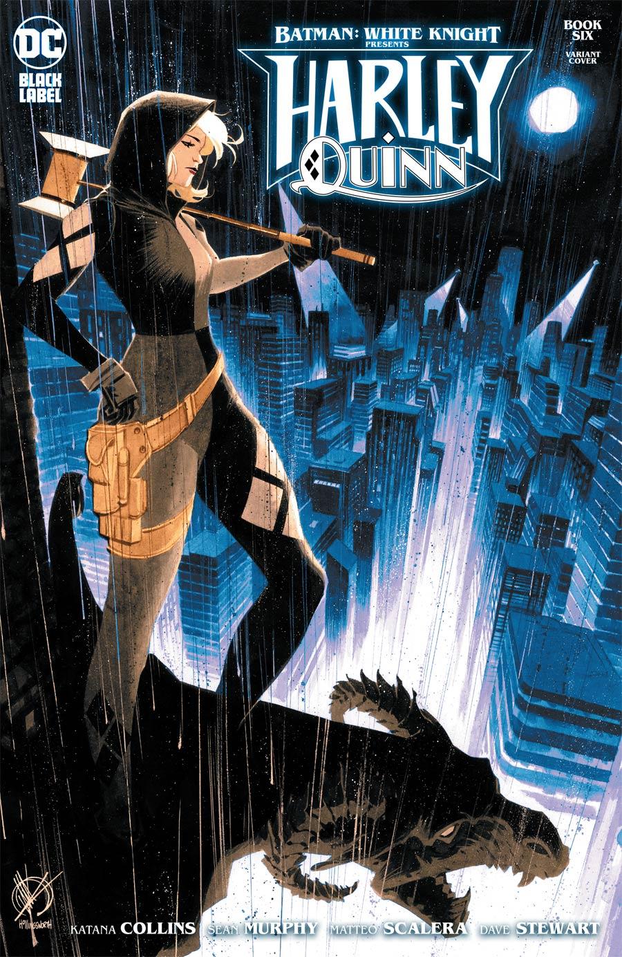 Batman White Knight Presents Harley Quinn #6 Cover B Variant Matteo Scalera Cover