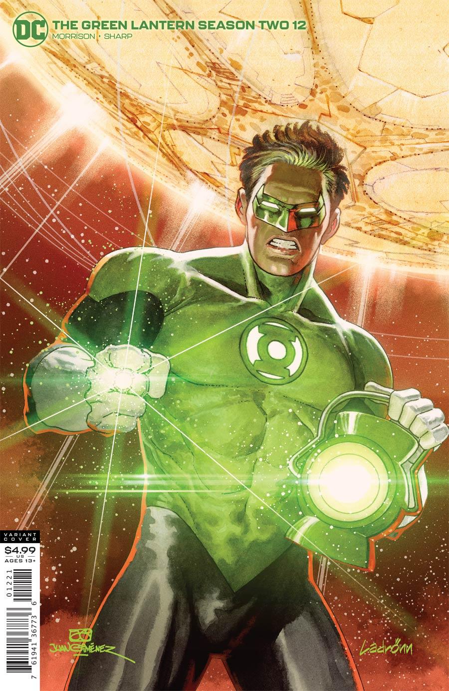 Green Lantern Vol 6 Season 2 #12 Cover B Variant Ladronn Cover