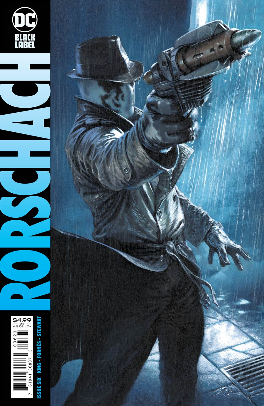 Rorschach #6 Cover B Variant Gabriele Dell Otto Cover