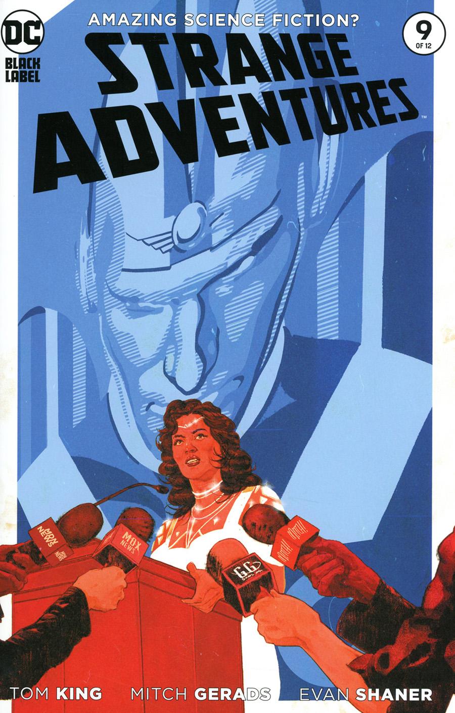 Strange Adventures Vol 4 #9 Cover A Regular Mitch Gerads Cover