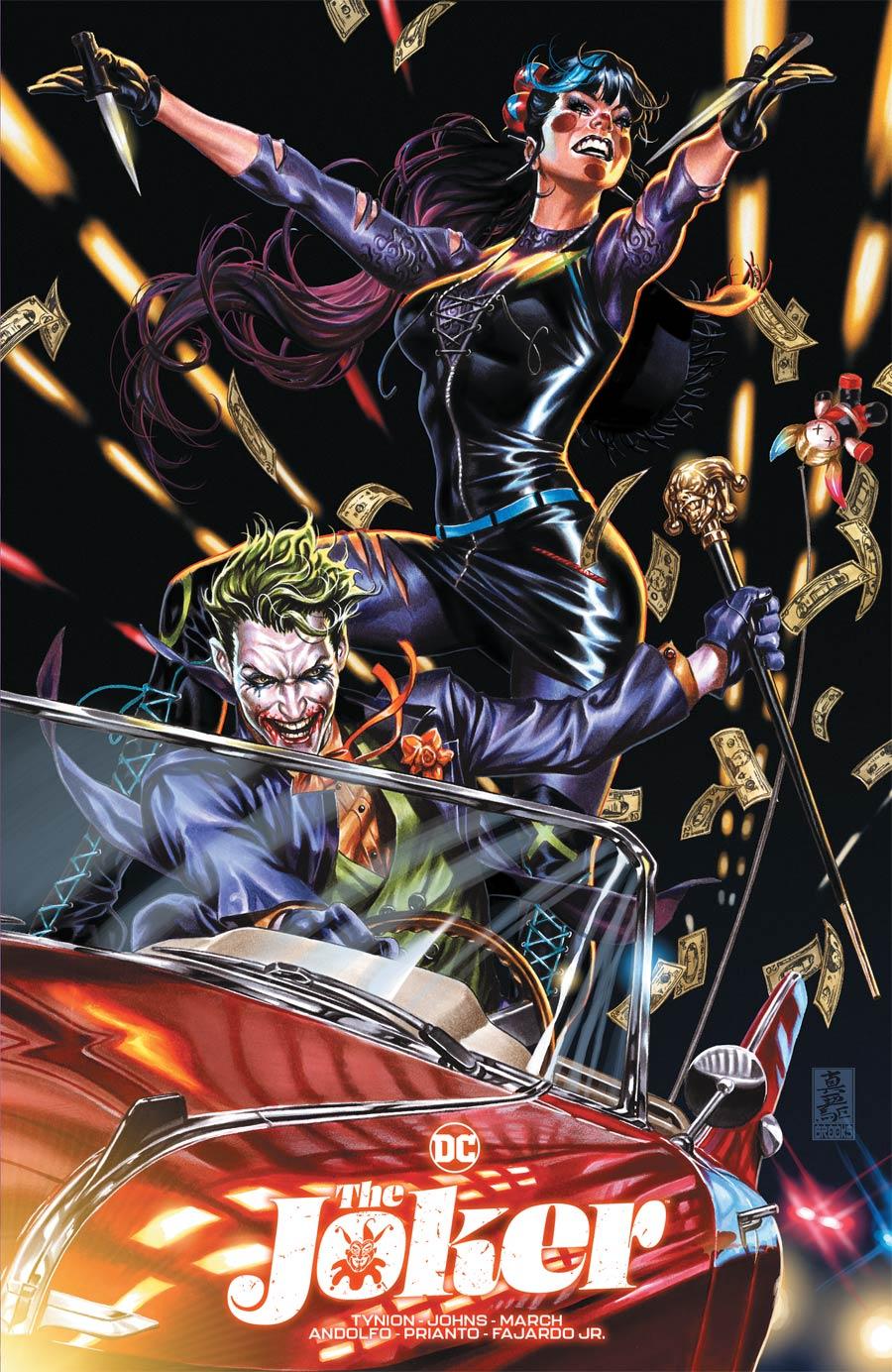 Joker Vol 2 #1 Cover E Variant Mark Brooks Team Cover (Limit 1 Per Customer)